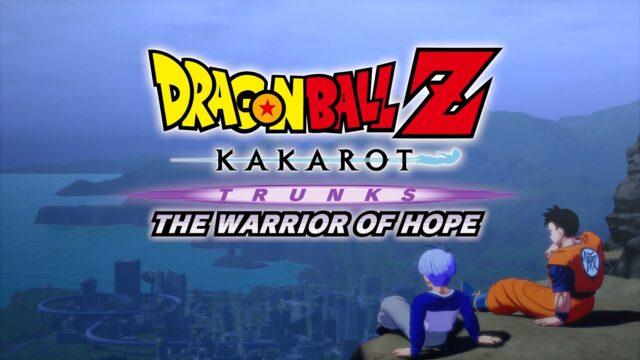 Dragon Ball Z Kakarot Trunks The Warrior of Hope Banner