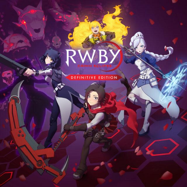 RWBY Grimm Eclipse Definitive Edition Key Art