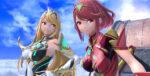 Super Smash Bros Ultimate Pyra Mythra Banner