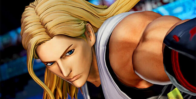 The King of Fighters XV Andy Bogard Banner
