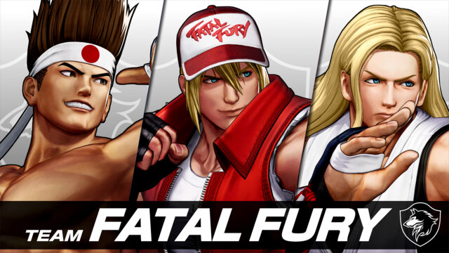 The King of Fighters XV Team Fatal Fury