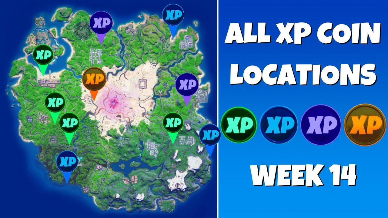 Fortnite Chapter 2 Season 5 Week 14 XP Coins Cheat Sheet