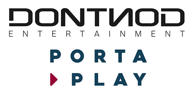 Dontnod Entertainment PortaPlay Logos