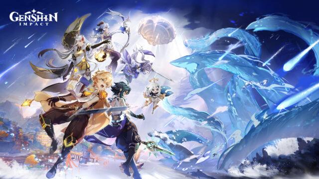 Genshin Impact PS5 Key Art
