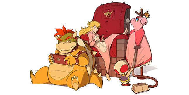 Nintendo Chilling Banner