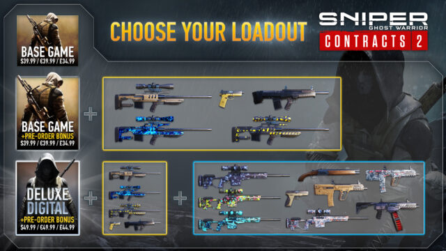Sniper Ghost Warrior Contracts 2 Choose Your Loadout