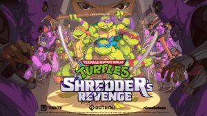 Teenage Mutant Ninja Turtles Shredders Revenge Key Art