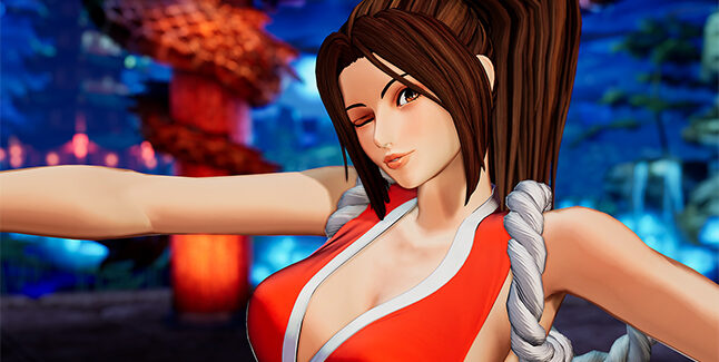The King of Fighters XV Mai Shiranui Banner