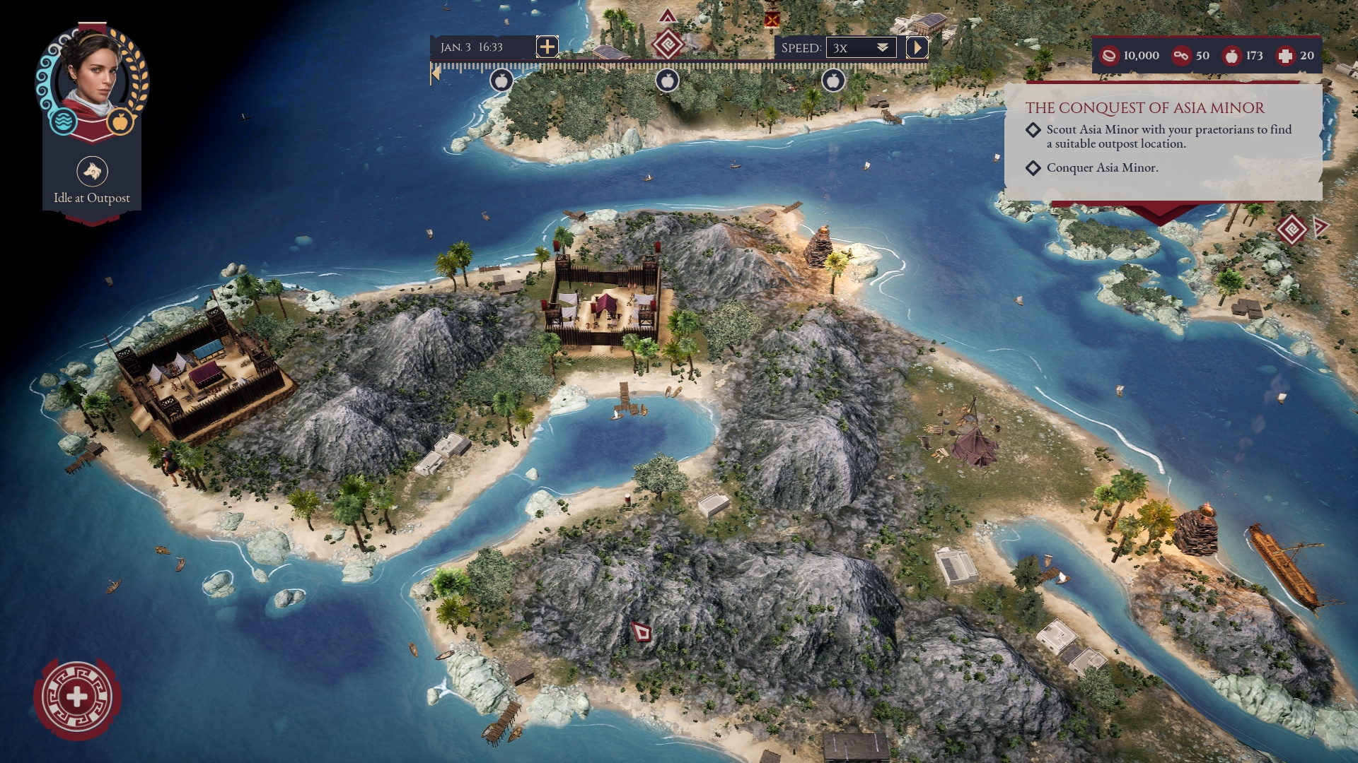 Expeditions Rome Screen 1