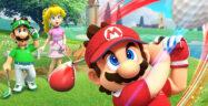 Mario Golf Super Rush Banner