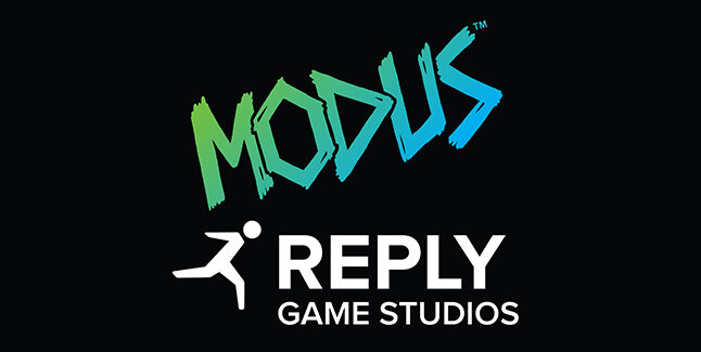 Modus Games and Reply Game Studios Logos