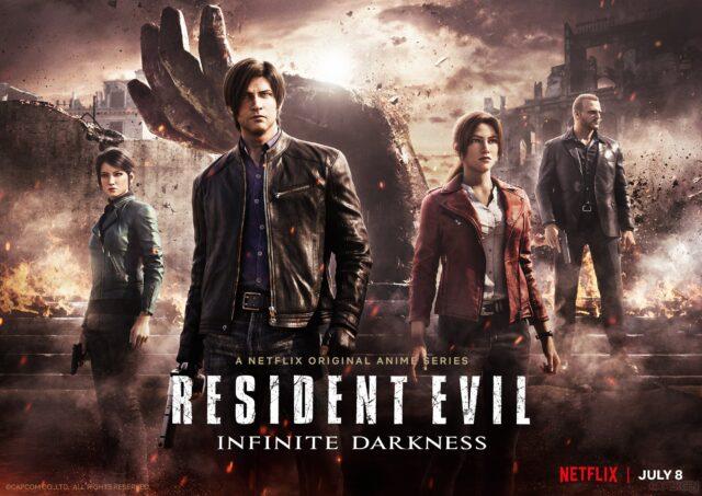 Resident Evil Infinite Darkness Key Visual