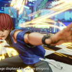The King of Fighters XV Chris Screen 3