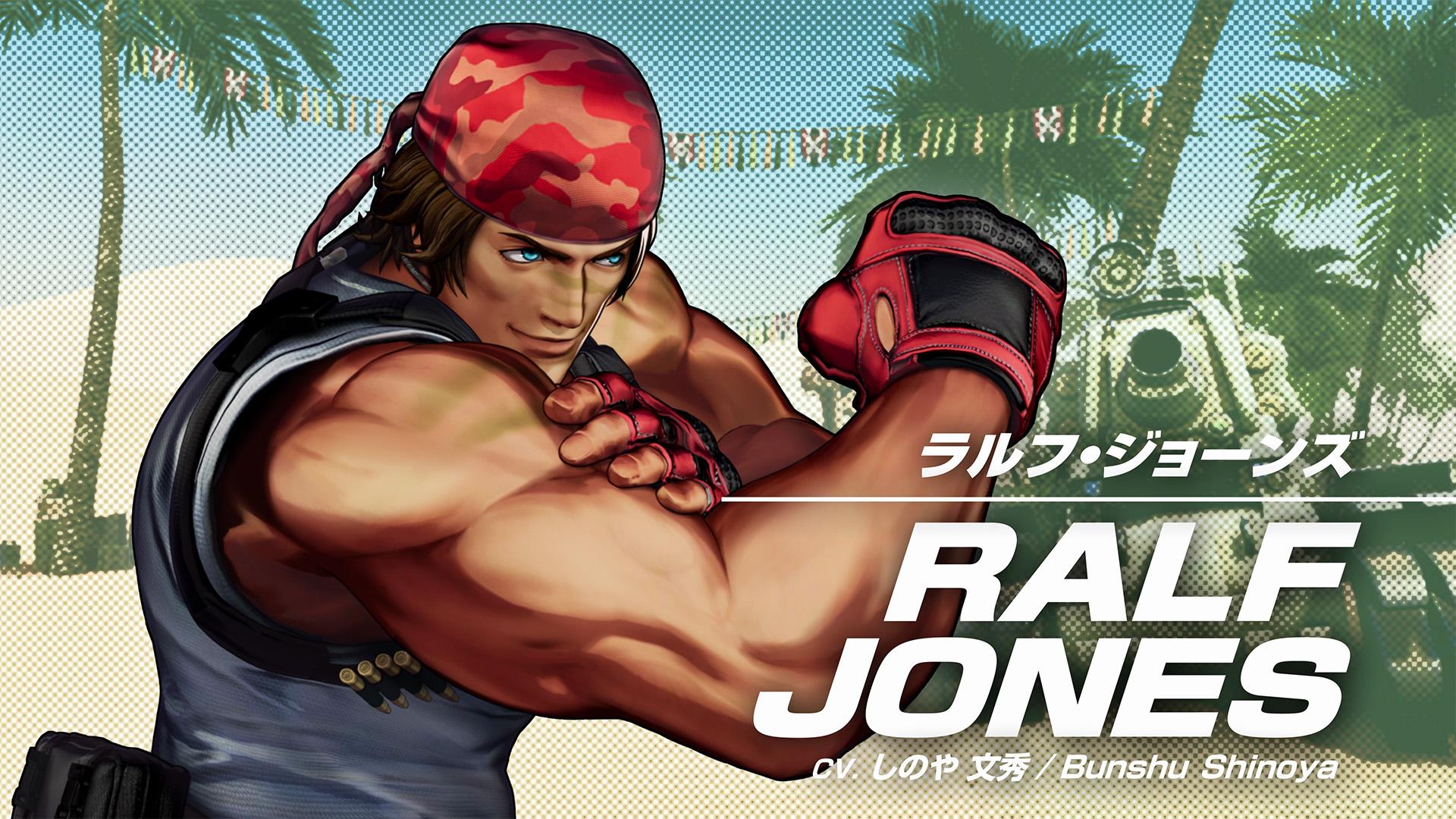 The King of Fighters XV Ralf Jones