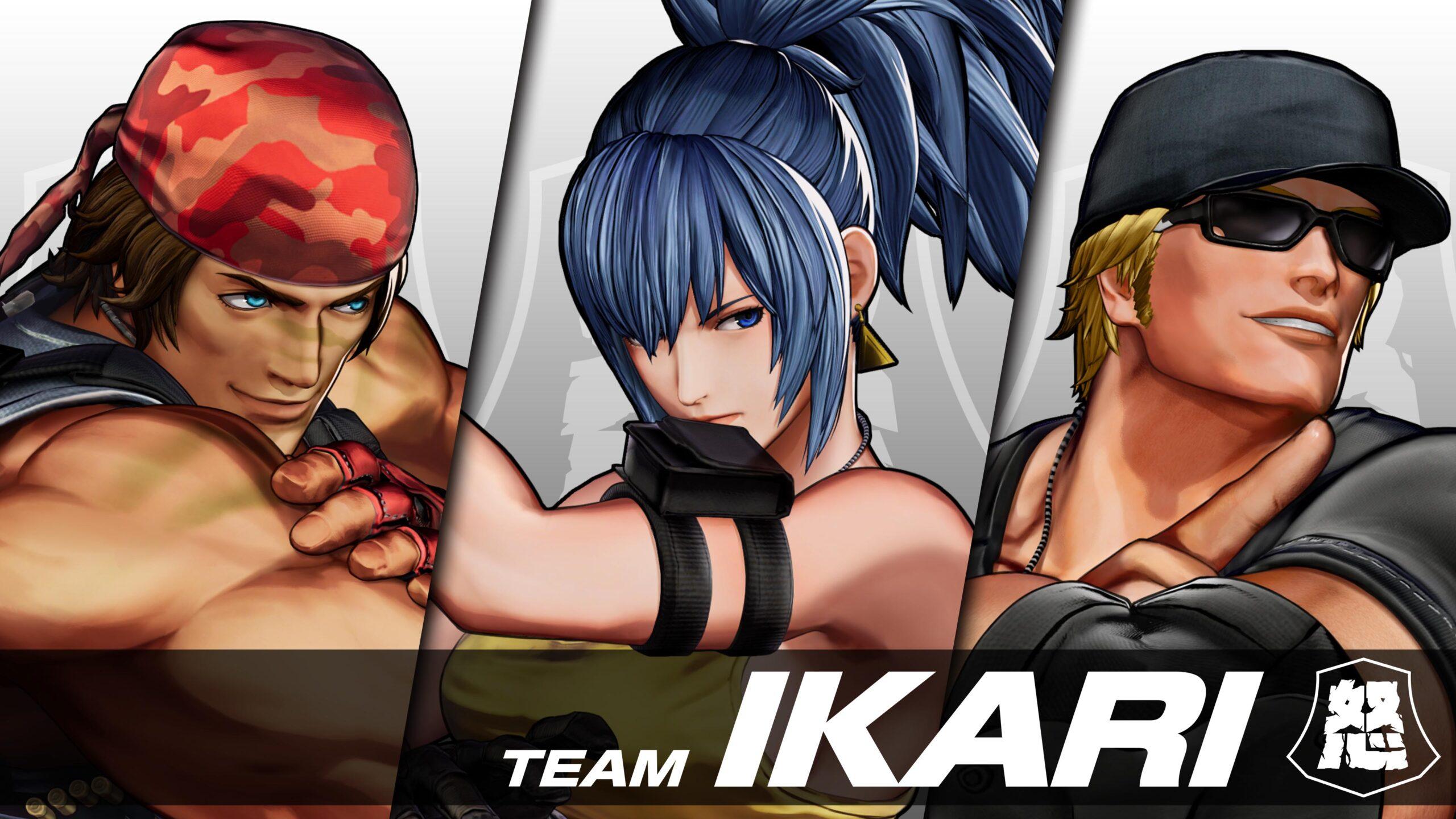 The King of Fighters XV Team Ikari