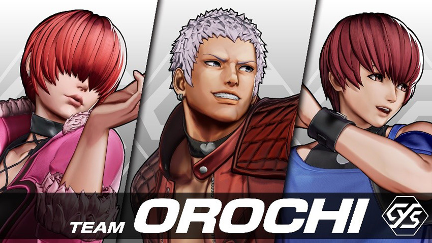 The King of Fighters XV Team Orochi