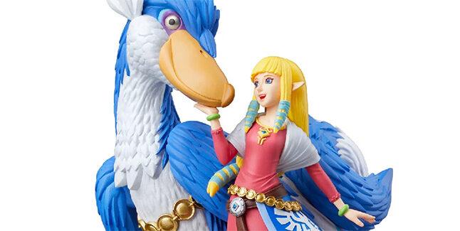 Zelda and Loftwing amiibo Banner
