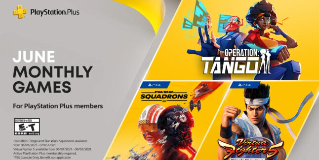 PlayStation Plus Games for June 2021