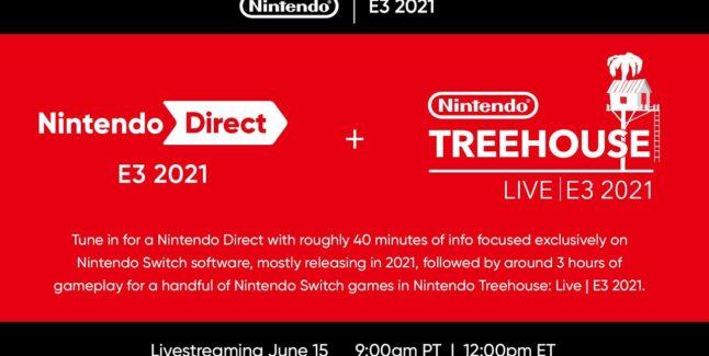 E3 2021 Nintendo Treehouse Press Conference Roundup