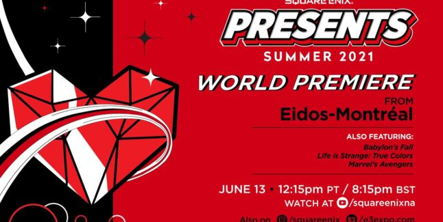 E3 2021 Square Enix Press Conference Roundup