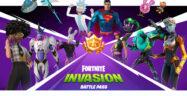 Fortnite Chapter 2 Season 7 Unlockable Skins Rick Sanchez, Toxic Rick, Superman, Clark Kent