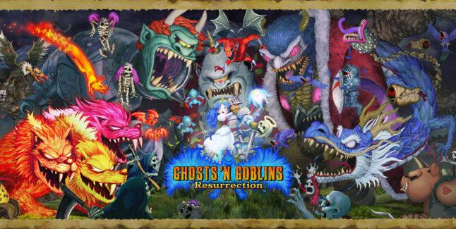 Ghosts 'n Goblins Resurrection Cheats