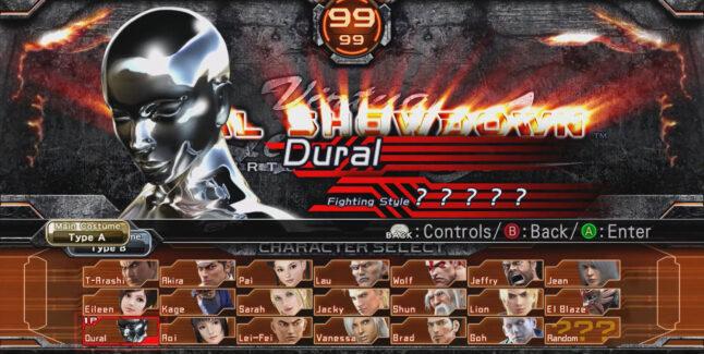 Virtua Fighter 5: Ultimate Showdown Unlockable Characters