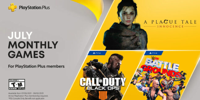 PlayStation Plus Games for July 2021 Lineup