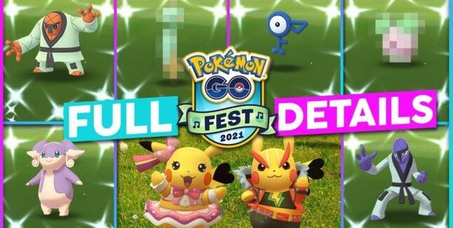 Pokemon Go Fest 2021 Prep Guide