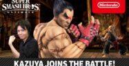 Super Smash Bros. Ultimate Kazuya Released