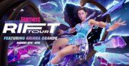 Ariana Grande 2021 Concert Held in Fortnite