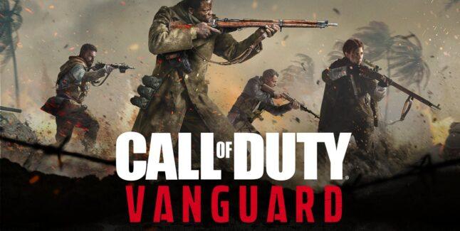 Call of Duty: Vanguard logo and key art