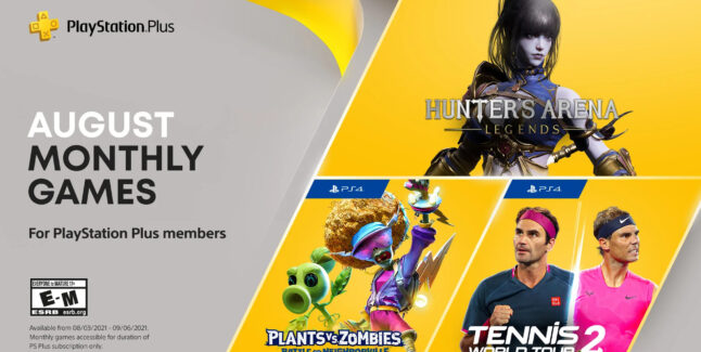 PlayStation Plus Games for August 2021 Lineup