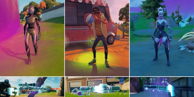 Fortnite Chapter 2 Season 8 Exotic Weapons Locations Guide