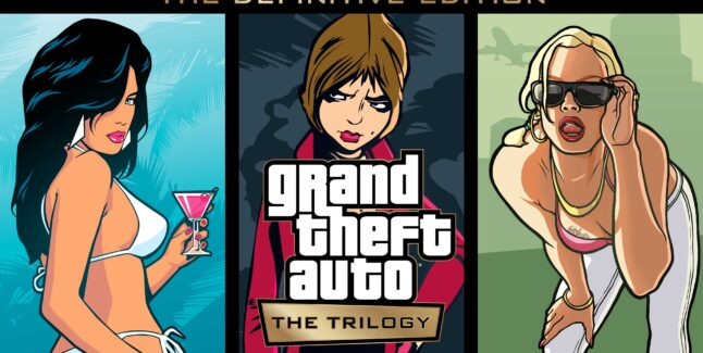 Grand Theft Auto: The Trilogy - The Definitive Edition Artwork