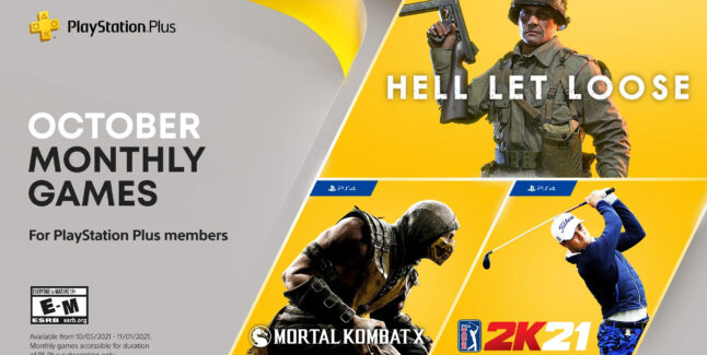 PlayStation Plus Games for October 2021 Lineup